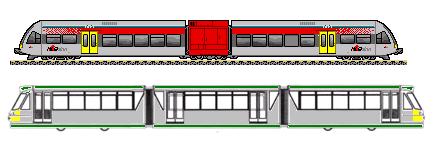 Lightweight railcars
