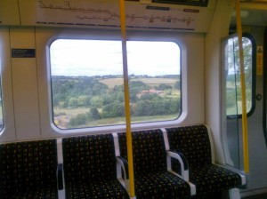 Rolling fields on a tube train